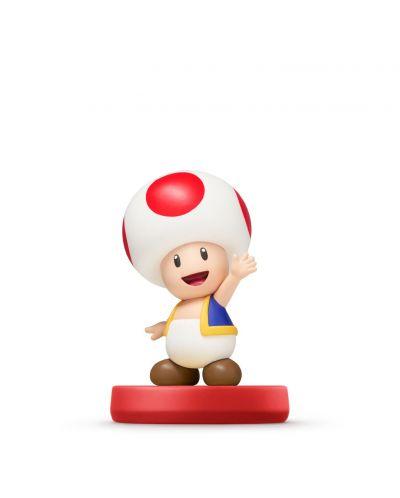 Nintendo Amiibo фигура - Toad [Super Mario Колекция] (Wii U) - 1